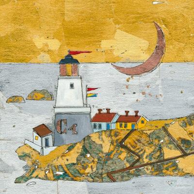 Bild mit Leuchtturm